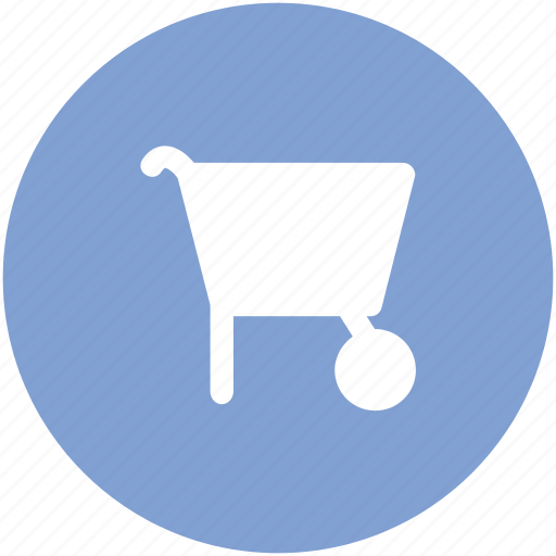 barrow, construction tool, garden cart, handbarrow, loaded barrow, pushcart, wheelbarrow icon