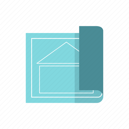 architectural, edit, home, house, measure, paint, specify icon