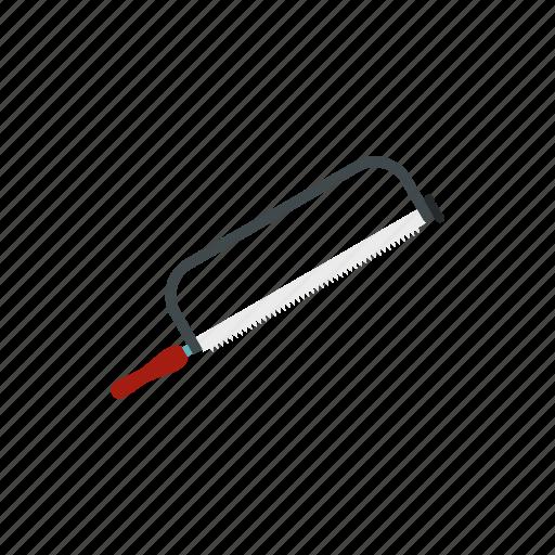 construction, equipment, hacksaw, metal, saw, sharp, tool icon