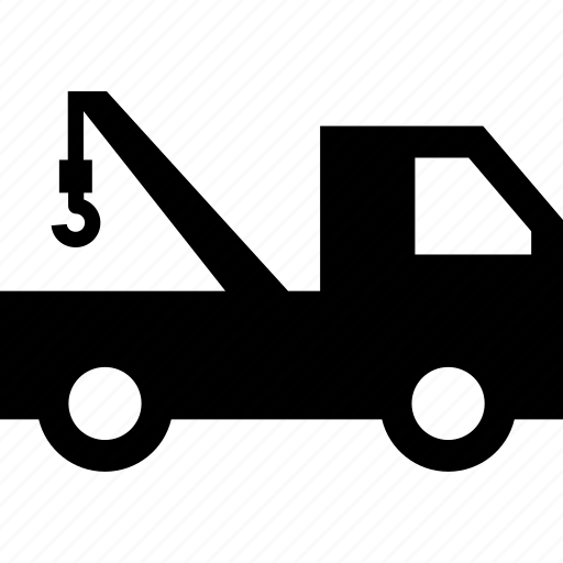 Breakdown assistance, breakdown lorry, recovery vehicle, tow truck, wrecker icon - Download on Iconfinder