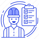 listed items, project, project plan, task list, todo list icon