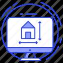 architecture, architecture design, building design, house design, map making icon