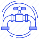 drain pipe, gas pipeline, gas terminal, oil pipeline, pipeline, sanitary system icon