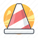 cone, construction, maintenance, traffic