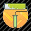 paint brush, paint roller, roller, roller brush icon