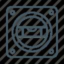 flat, horizon, horizontal, level, line, measure icon