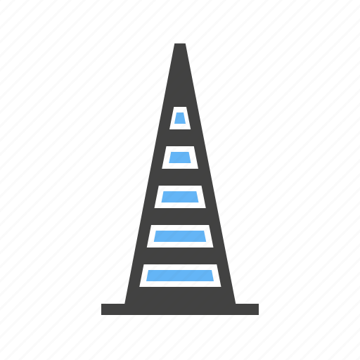 Barrier, caution, construction cone, road, safety, traffic cone icon - Download on Iconfinder