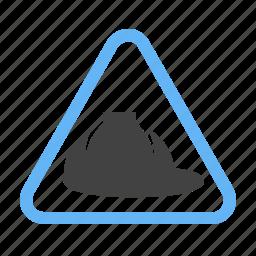 construction, engineer, helmet, maintenance, site, work in progress, worker icon