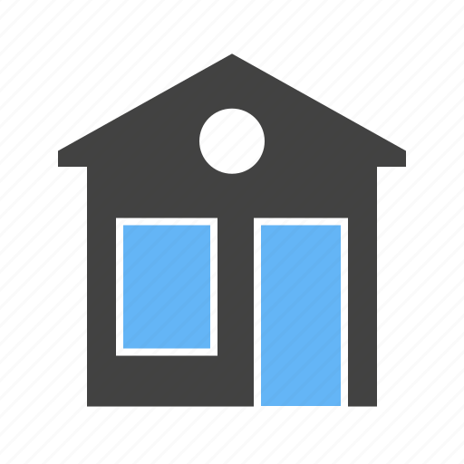 Building, house, residential, real estate, construction, residence, home icon