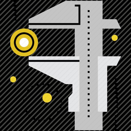 accuracy, measure, measurement, measuring, presicion, proportions, size icon