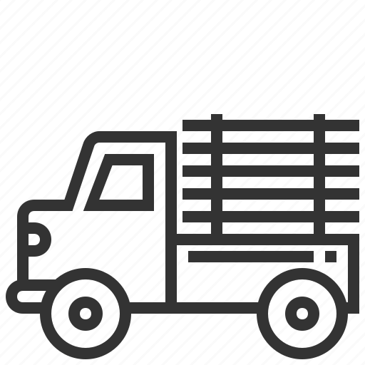 car, delivery, shipping, transportation, truck icon