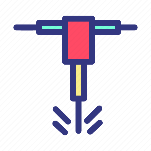 auger, construction, edit, real, repair icon
