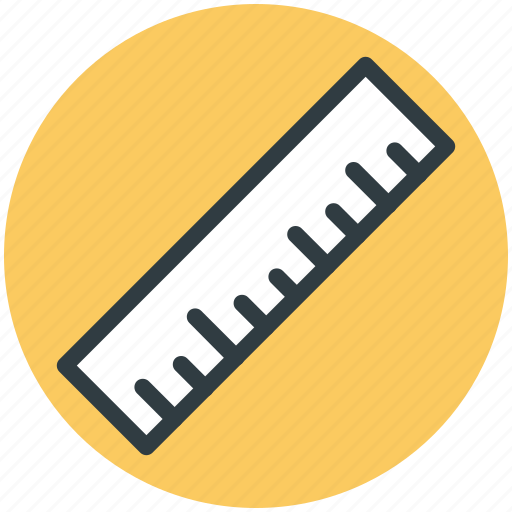 geometry, measuring tool, office supplies, ruler, school supplies icon