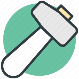 hammer, hand tool, hit tool, mallet, manual tool icon