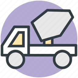 concrete, concrete truck, construction truck, truck, vehicle icon