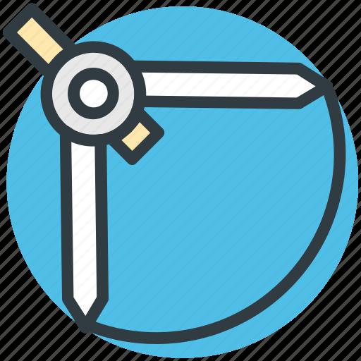 compass, drafting tool, drawing tool, geometric, geometry tool icon