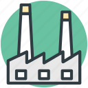 chimney, factory, industrial, industry, nuclear plant icon