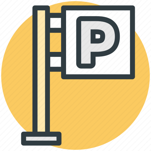 car parking, p sign, parking area, parking garage, parking sign icon