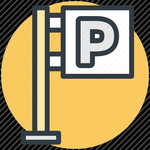 car parking, p sign, parking area, parking garage, parking sign icon