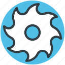 circular saw, circular saw blade, power tool, saw wheel, saw wheel blade icon