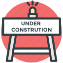 barrier, construction banner, construction barrier, street barrier, traffic barrier icon