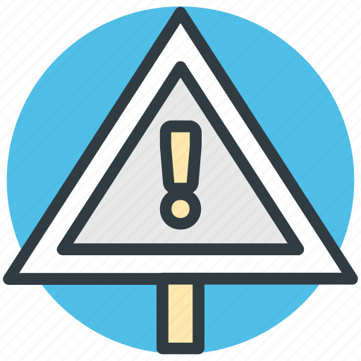 avoid, caution, danger, warning, warning sign icon