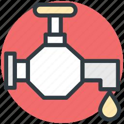 faucet, plumbing, tap, valve, water tap icon