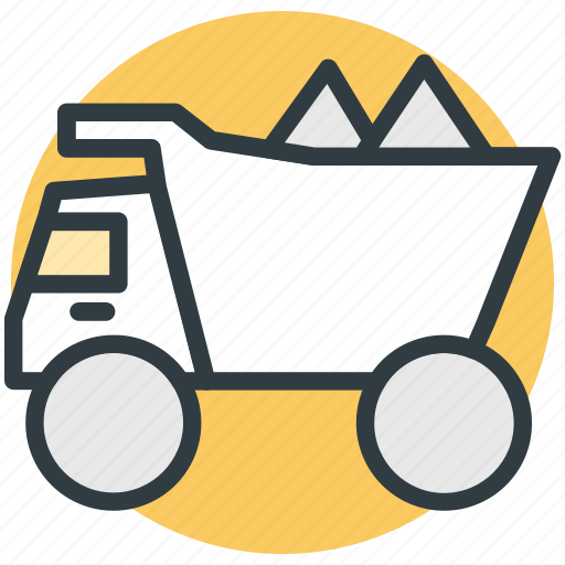 concrete van, concrete vehicle, construction vehicle, transport icon
