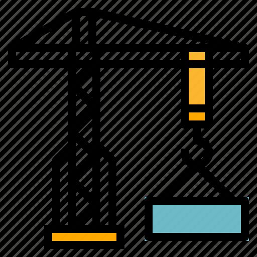 crane, hook icon
