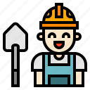 avatar, worker icon