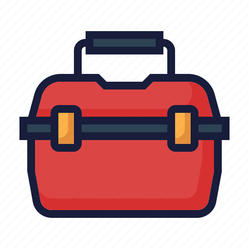 architecture, construction, industry, kit, labor, maintenance, toolbox icon