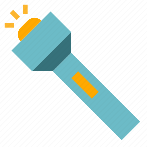 construction, flashlight, tool icon