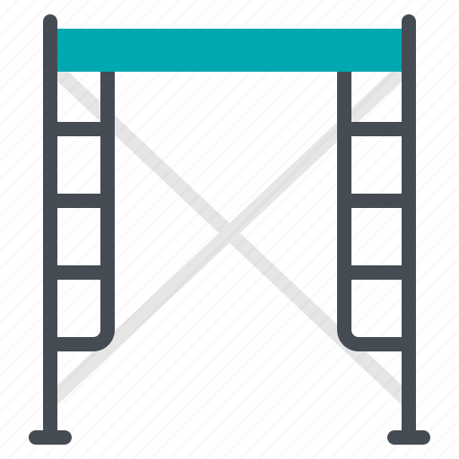 construction, scaffolding, site, structure, work icon