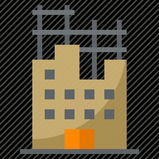 architecture, build, building, city, construction, industry, labor icon
