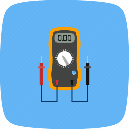 meter, voltage, voltmeter icon