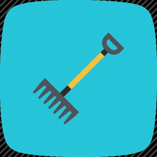 agriculture, farming, garden, rake icon