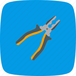 mechanic, plier, tool, work icon