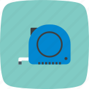 measurement, measuring, tape icon