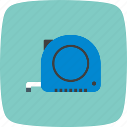 measurement, measuring, measuringtape, tape icon