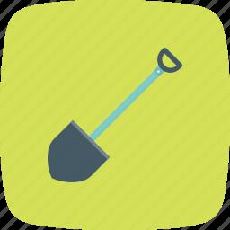 gardening, shovel, spade, trowel icon