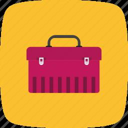 box, tool box, tools icon