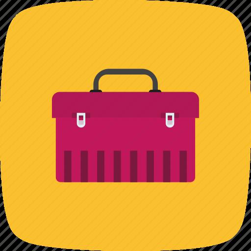 box, tool box, tools, work icon