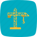 building, construction, crane, machine, repair icon