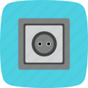 plug, power, socket icon