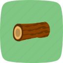 piece, tree, wood icon