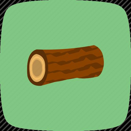 piece, tree, wood icon