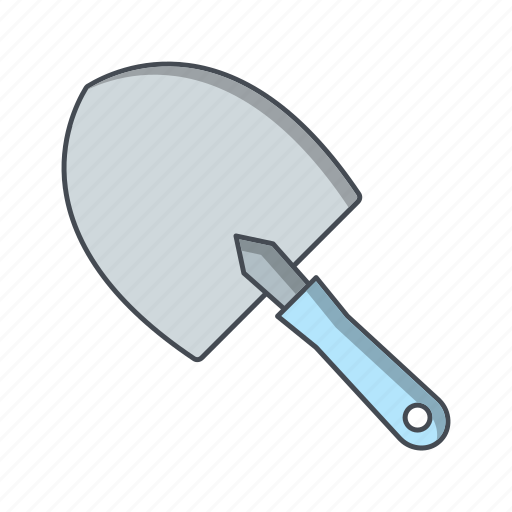 agriculture, gardening, shovel, trowel icon