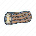 construction, furniture, tree, wood, wooden icon