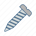 driver, hardware, repair, screw, tool icon