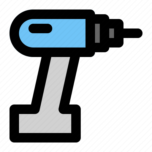 Construction, drill, industrial, industry, project, site, work icon - Download on Iconfinder